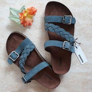 Sonoma genuine suede sandals
